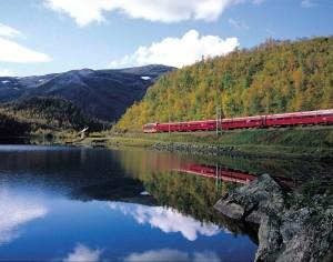 Tren panorámico Oslo-Bergen (Noruega)