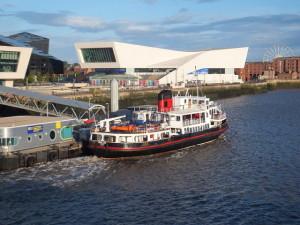 Terminal de ferry, Liverpool