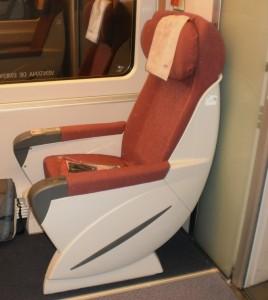 Como Comprar Passagens de Trem Baratos na Europa - Assentos Gran Confort (Espanha)