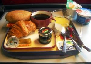 Desayuno pago en Thalys
