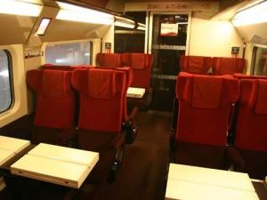 Thalys Paris-Bruselas, 2da clase