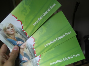 InterRail Pass respeta el Acuerdo Shengle