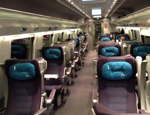 EuroCity Italia-Suiza, 1ra Clase