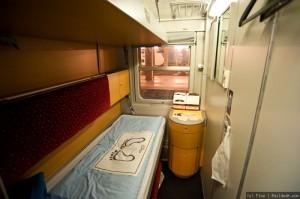 Euronight Venecia-Viena, Camarote 2 camas