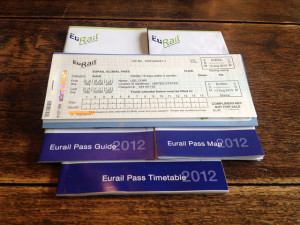 eurail pass calendario