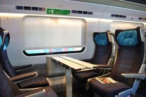 Trenes italianos - Asientos 2da clase