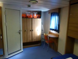 Interior de uma cabine