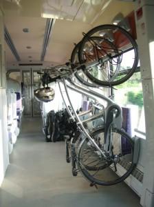 Aparcamento de bicicletas em Intercités