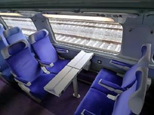 TGV Paris-Barcelona, 2da Classe