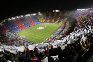 Camp Nou, o estádio do Barça