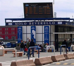 Porto Molo Beverello (Nápoles)
