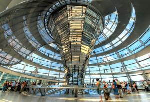 Cupula del Reichtag (Parlamento), Berlin