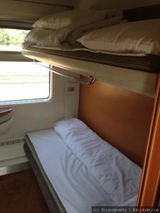 Euronight, Compartimento 2 camas