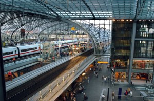 Interior de Berlin Hbf