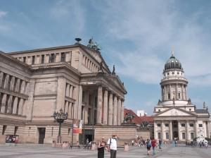 Konzerthaus (Teatro), plaza Gendarmenmarkt