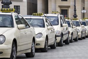 Ponto de táxi na Pariser Platz