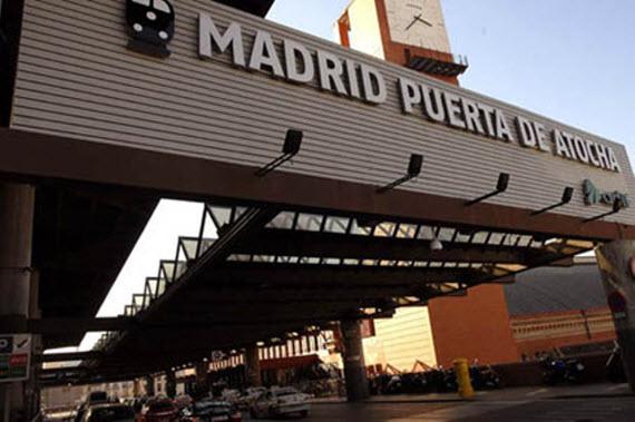 estacion de tren atocha madrid: