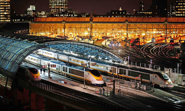 Resultado de imagen de europa en tren