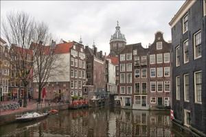 Canal en Amsterdam