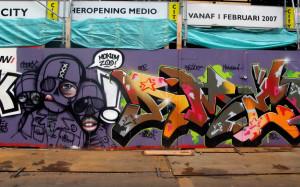 Graffitis en Amsterdam