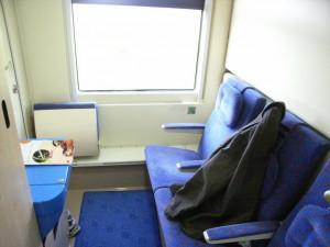 Jan Kiepura, compartimento com camas