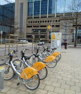 Bicicletas públicas Villo!