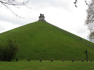 Lion's Mound em Waterloo