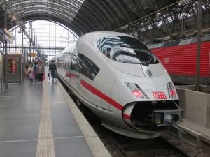 ICE en Frankfurt