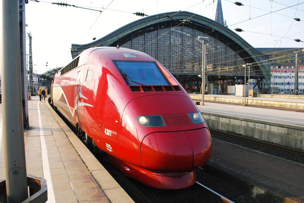 Resultado de imagen de tren de bruselas