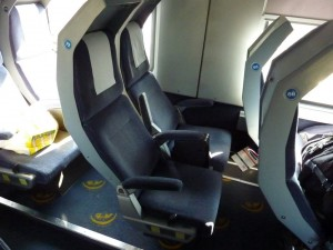 CNL, vagón de asientos reclinables