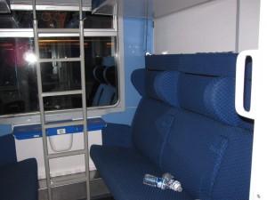 CNL, compartimento con cuchetas cerradas