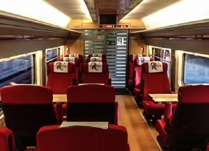 AVE 1ra classe Preferente (novos trens)
