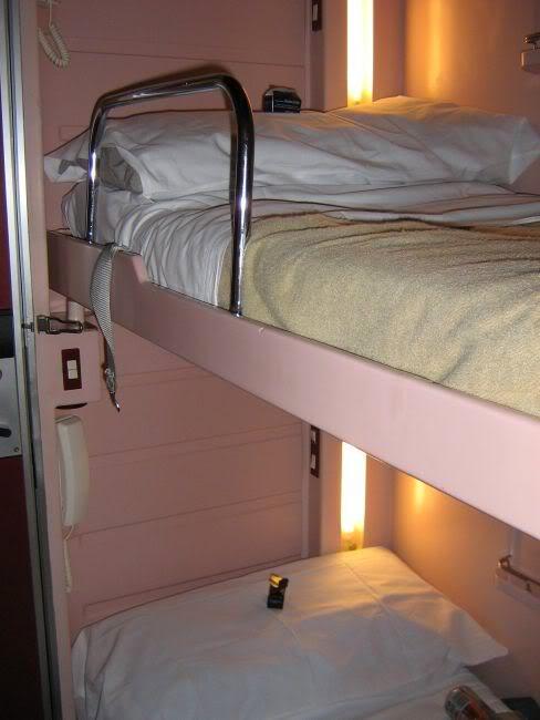 Trenhotel el tren nocturno de espa a en trenes europa for Cama familiar