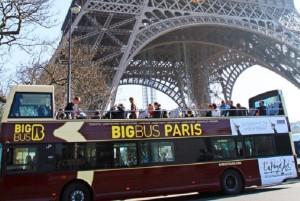 Paris Big Bus Tour