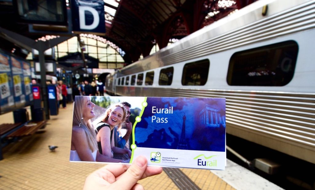 Cambios Eurail Pass – Adios Regional, Bienvenido Select de 2 o 3 Paises